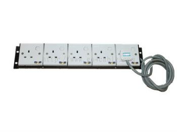 5 WAY POWER EXTENSION POWER SOCKET (FULL COPPER)