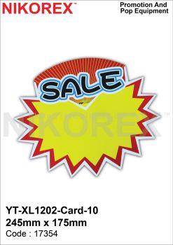17354 - YTXL1202 CARD 10 245mm x 175mm
