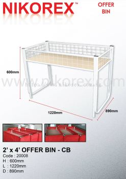 20021-2'X4' OFFER BIN-CB