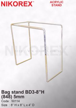 50114 Bag stand BD3-8��H (848) 5mm