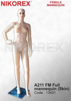 13431-A211 FM FULL MANNEQUIN(SKIN)
