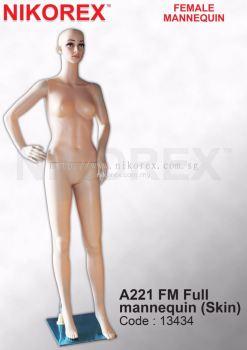 13434-A221 FM FULL MANNEQUIN(SKIN)