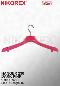 40021-HANGER 230 DARK PINK