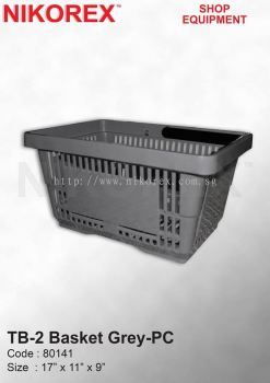 80141-TB-2 BASKET GREY-PC