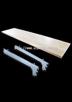 23766-Wood Shelf C/W Bracket