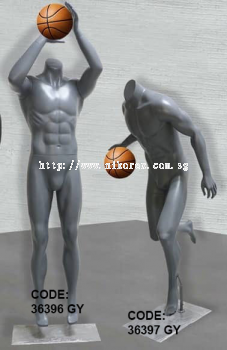 36396 GY 36397 GY - SPORTS MANNEQUIN