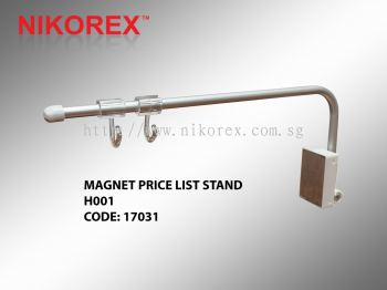 17031 - MAGNET PRICE LIST STAND H001