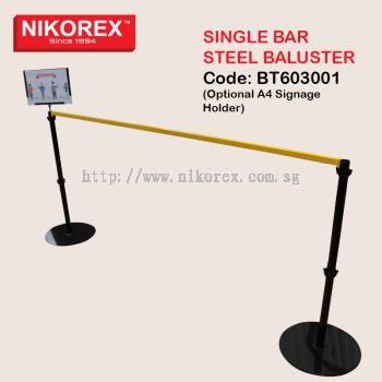 BT603001 - Single Bar Steel Baluster