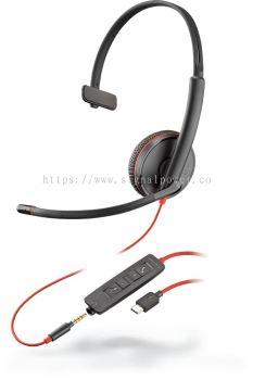 BLACKWIRE C3215 USB-A / USB-C