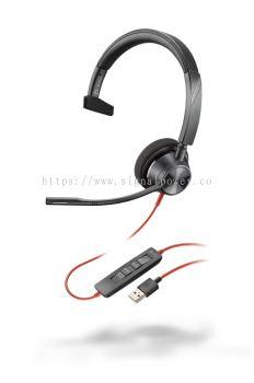 BLACKWIRE 3310 USB-A / USB-C