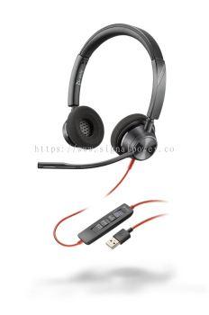BLACKWIRE 3320-M USB-A / USB-C