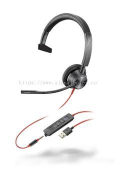 BLACKWIRE 3315-M USB-A / USB-C