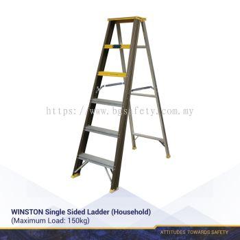 WINSTON Single Sided Ladder (Household)(3 Years Warranty)
