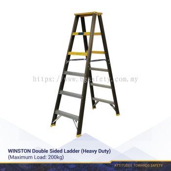 WINSTON Double Sided Ladder (Heavy Duty)(3 Years Warranty)