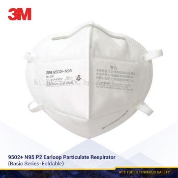 3M N95, 9502+ N95 Standard Disposable Respirator