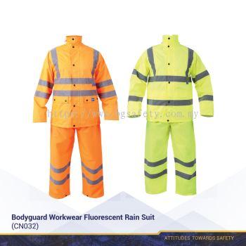 Bodyguard Workwear Fluorescent Rain Suit (CN032)