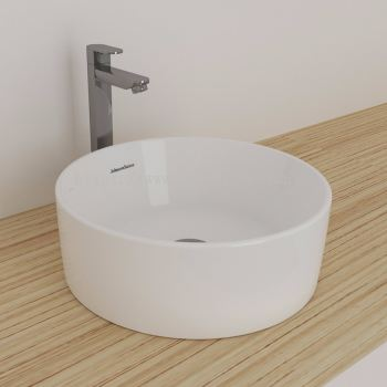 Gemelli Round Above Counter Basin 400