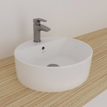 Gemelli Round Above Counter Basin 450 x 410-1 TH