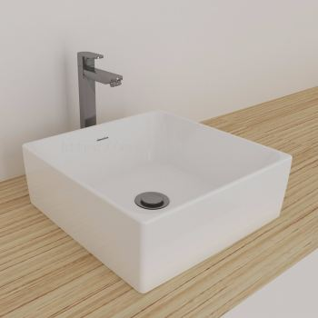 Gemelli Square Above Counter Basin 400 x 400