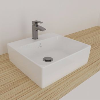 Gemelli Square Above Counter Basin 450 X 410-1TH