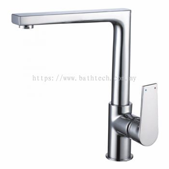 Messina S/Lever Deck Mounted Sink Mixer (300912)
