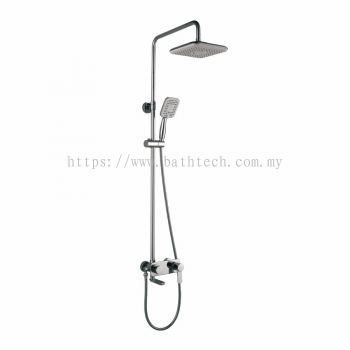 S/Lever Wall Mounted Bath Shower Mixer Column (301088)