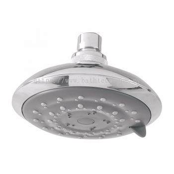 Wave Fixed Shower Head with Three Functions (300573)