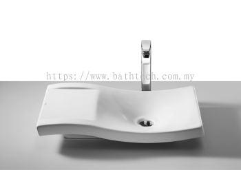 Roca Urbi 2 Countertop Basin 66 x 38cm (A327226000)