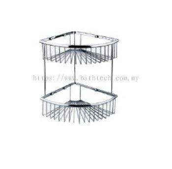 Abagno SC-220D Double Layer Corner Basket