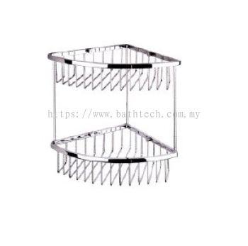 Abagno SC-250D Double Layer Corner Basket