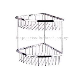Abagno SC-260D Double Layer Corner Basket
