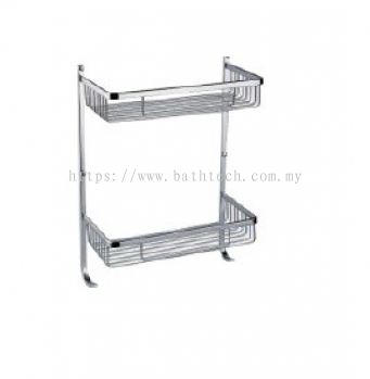 Abagno SC-295DH Double Layer Basket with Hook