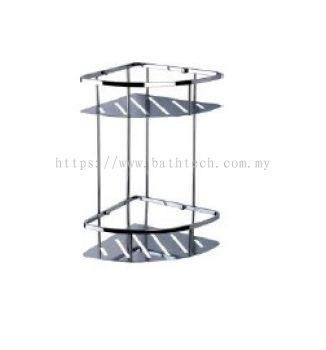 Abagno SC-3070D Double Layer Corner Basket