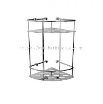 Abagno AR-8198 Double Layer Corner Basket