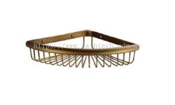 Abagno SC-2100-BR Corner Basket