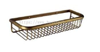 Abagno SC-4200-BR Corner Basket