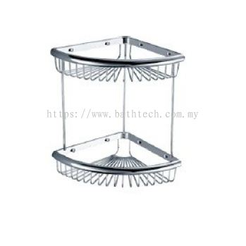 Abagno SK-2100D Double Layer Corner Basket