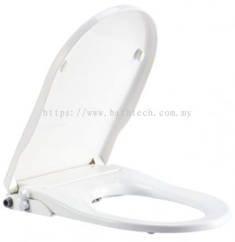 Manual Bidet Seat,U Shape + 180mm Plate (800170)