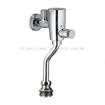 Urinal Flush Valve c/w Bend Pipe
