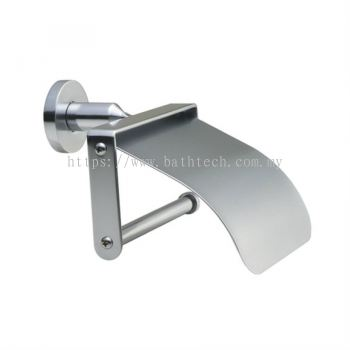 Commercial Toilet Roll Holder With Cover (100131)