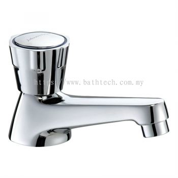 Ravenna Basin Pillar Tap with Extended Spout (95mm) (300597)