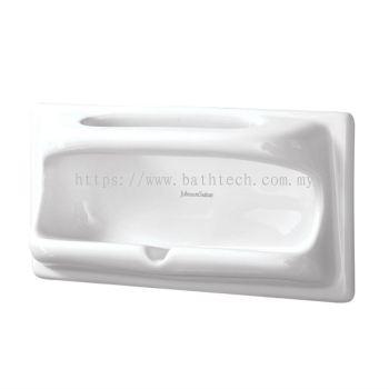 Semi-Recessed Soap & Sponge Holder