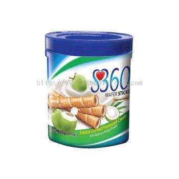 S360 Wafer Sticks Pandan Coconut