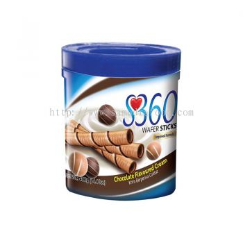 S360 Wafer Sticks Chocolate