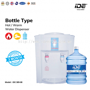 IDE 389-08 Bottle Type Dispenser (Hot&Warm)