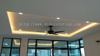 plaster ceiling&lighting