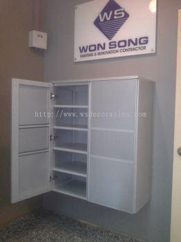 Aluminium Shoes Cabinet