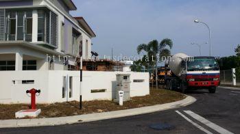 41 Palma Merah 2 - Concrete works