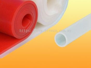 Silicone rubber sheet -
