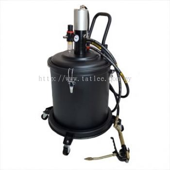 Air operated grease pump